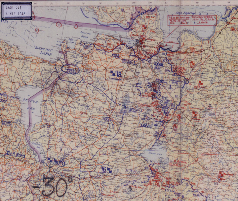 A european anabasis maps march 4 1942 the german eastern front situation maps 1941 45 formed part of the captured german world war ii documents brought back to the us by the us army after gumiabroncs Gallery