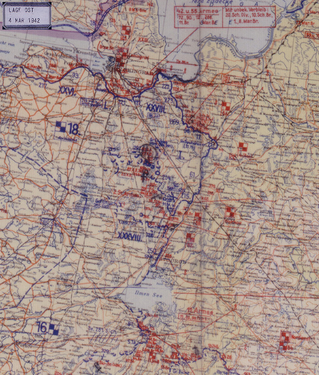 A European Anabasis Maps March 4 1942 - Us-front-map