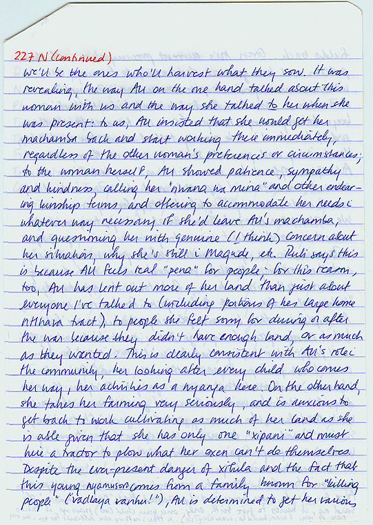 binding memories interview notes albertina ubisse