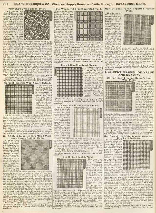 Sears-Roebuck Catalog